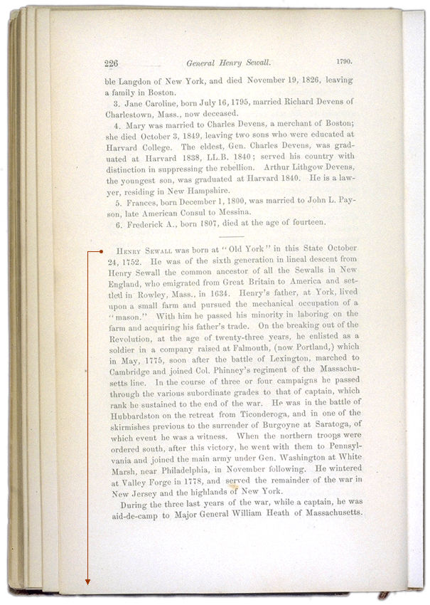 The History of Augusta Page 226. Choose 'View Text' (at top) for faster download.